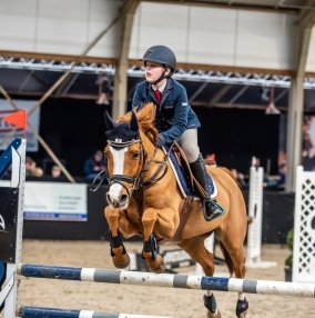 Springen – Paard Balkbrug – 1 maart