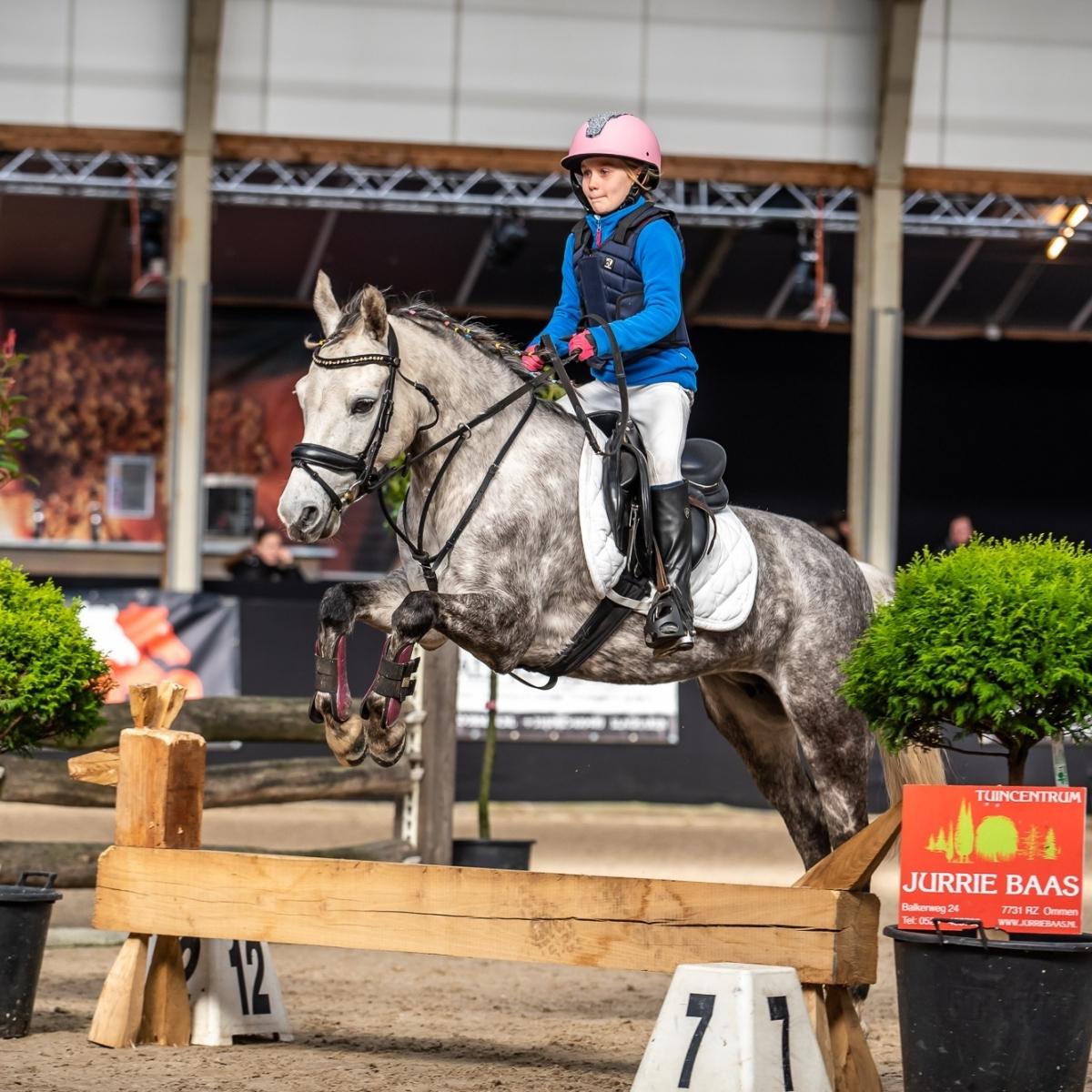 Bixie crosslessen – Paard Balkbrug – 1 maart